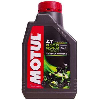 MOTURL(MOTURL)3100 GOLD 4 T半合成バイクグリス10 W-40 SL級1 L