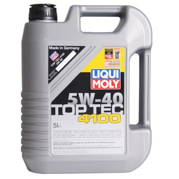 LIQUI MOLY(LIQUI MOLY)トップ技術4100合成OIL 5 W-40 SN/CFクラス5 L(ドイツ原装輸入)自動車用品