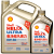 Shell(Shell)金装極浄超常喜力天然ガス合成オイルヘlix Ultra 0 W-40 SN級5 Lセット